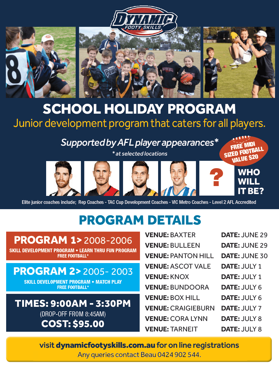 July School Holiday Program
