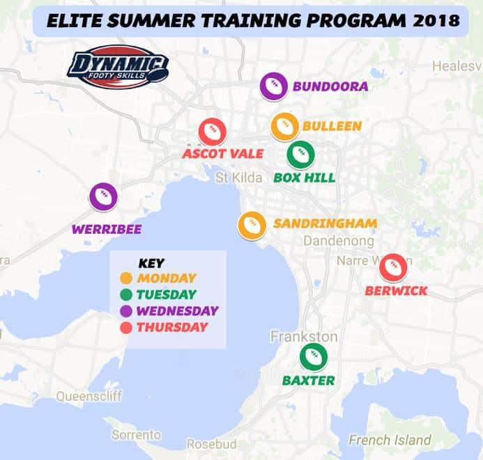Elite Summer Training Program | Dynamic Footy Skills